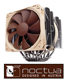 Noctua NH-D14 SE2011 Ultra Quiet CPU Cooler. Click for more details.