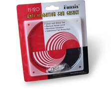 Fansis 140mm Anti Vibration  Fan Gasket  Clear FS-140