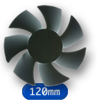Quiet PC Fans - 120mm