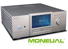 The Moneual Moncaso 972 quiet HTPC case in Platinum. Click for more details about this HTPC case.