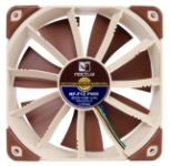 Noctua Quiet 120mm cooling fan - NF-F12 PWM. Click for more details about this fan.