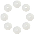 Acousti Anti-Vibration Silicone Washers 8 Pk - Translucent