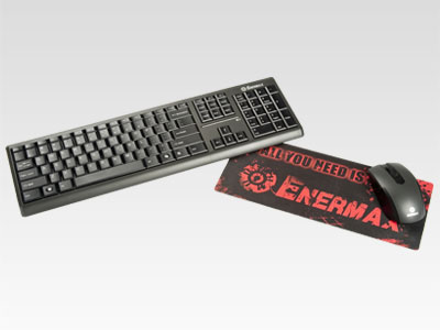 Enermax Briskie Wireless Keyboard and Mouse Combo