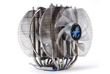Image shows the Zalman CNPS12X Quiet CPU Cooler.