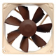 Image shows Noctua NF-B9 PWM Quiet 92mm Cooling Fan.