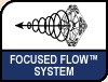 Image shows the Focused Flow™ Frame logo.