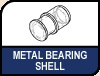 Image shows Metal bearing shell logo.