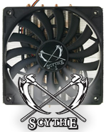 Scythe Big Shuriken Quiet CPU Low Profile Cooler