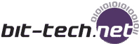 Image shows the bit tech reviews logo.
