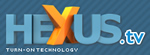 Image shows the HeXus logo.