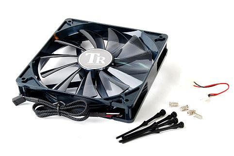 Image shows Thermalright 140mm quiet pc cooling fan.