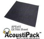 AcoustiPack EXTRA Sheet PC Soundproofing Insulation