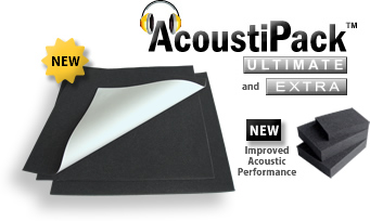 AcoustiPack™ ULTIMATE PC Soundproofing Materials Kit