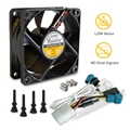 AcoustiFan DustPROOF Premium Quality Ultra Quiet Computer Fan - 70mm AFDP-7025B