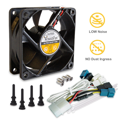 AcoustiFan DustPROOF 70mm fan