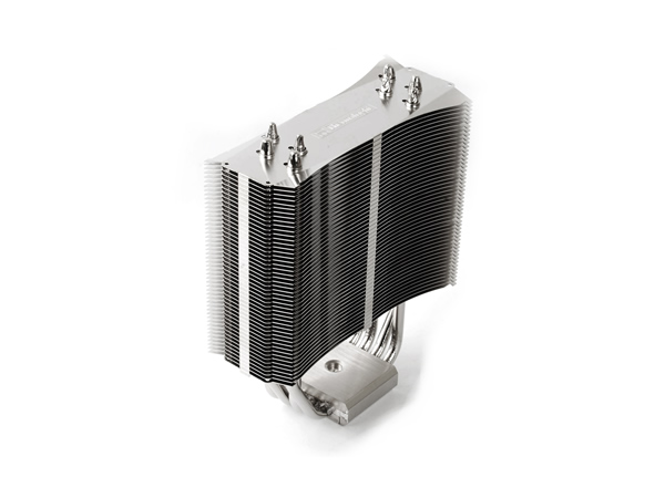 Image shows the new quiet Thermalright 120 MUX CPU Cooler.