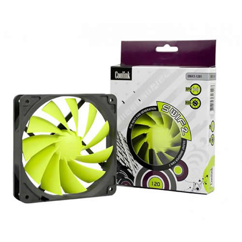 Coolink SWiF2-1200 120mm Case Fan