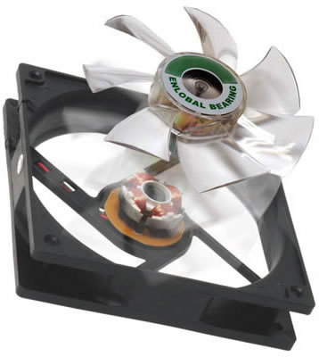 Image shows the Enermax Marathon Enlobal 80mm Case Fan