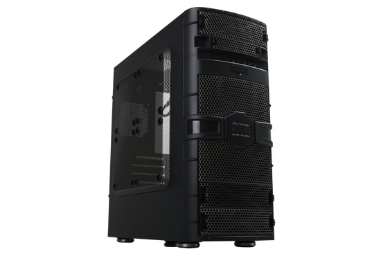 Image shows the NoFan CS-60 mATX Quiet Computer Case.