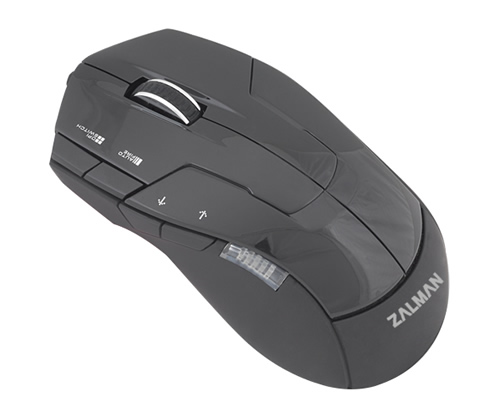 Image shows the Zalman ZM-M300 Gaming Mouse