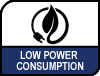 Low Power Consumption.