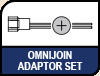 Image shows OmniJoin Adaptor Set logo.