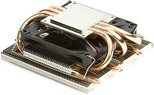 Image shows the Scythe Kozuti CPU Cooler base plate.