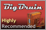 Image shows the Big Bruin Highly Recommended.