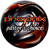 Image shows the Phoronix Editors Choice logo.