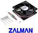 Zalman F1 Plus 80mm Quiet PC Cooling Fan