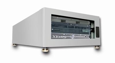 Xrackpro2 4u Quiet Rackmount Server Cabinet Platinum