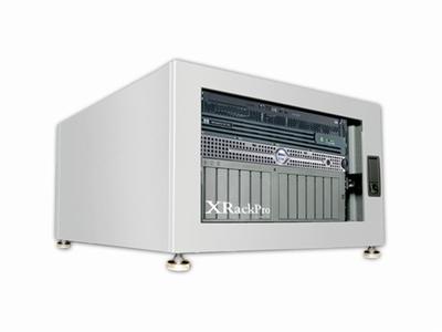 XRackPro2 6U Quiet Rackmount Server Cabinet Platinum