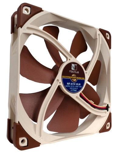 Noctua NF-A14 ULN Quiet PC Fan 140mmv