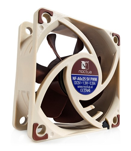 Noctua NF-A6x25 5V PWM Quiet Computer Cooling Fan 60mm