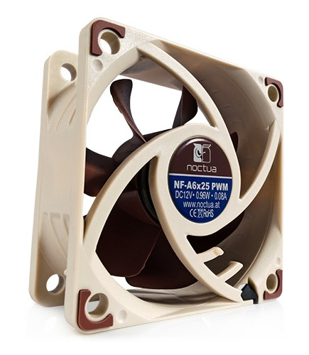 Noctua NF-A6x25 PWM Quiet Computer Cooling Fan 60mm