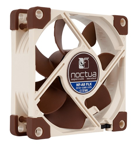 Noctua NF-A8 FLX Quiet Computer Fan 80mm